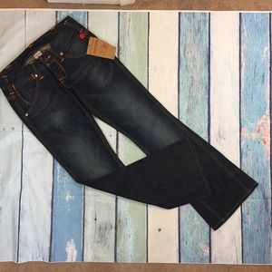 NEW True Religion Women's Sydney Flare Jeans 28